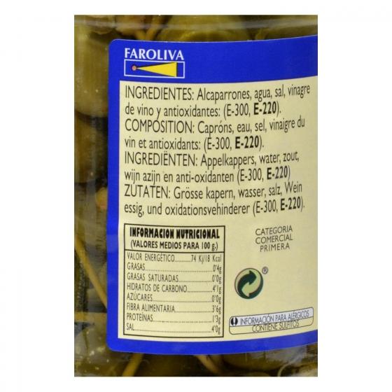 Alcaparrones finos en vinagre El Faro 150 g. - 1