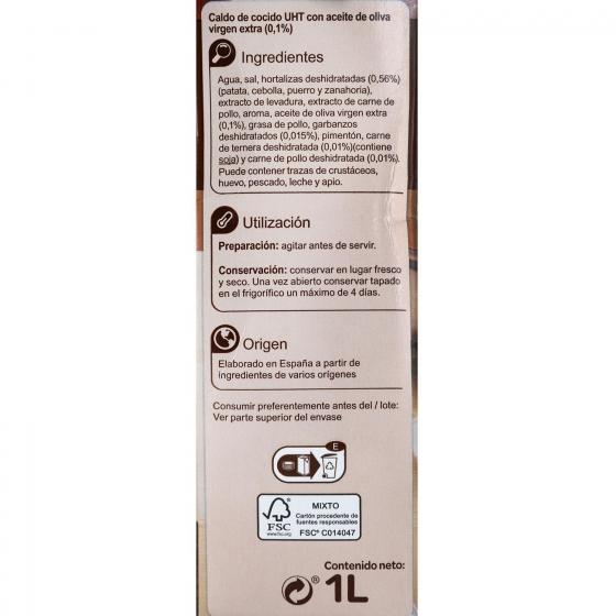 Caldo de cocido Carrefour sin gluten 1 l. - 3