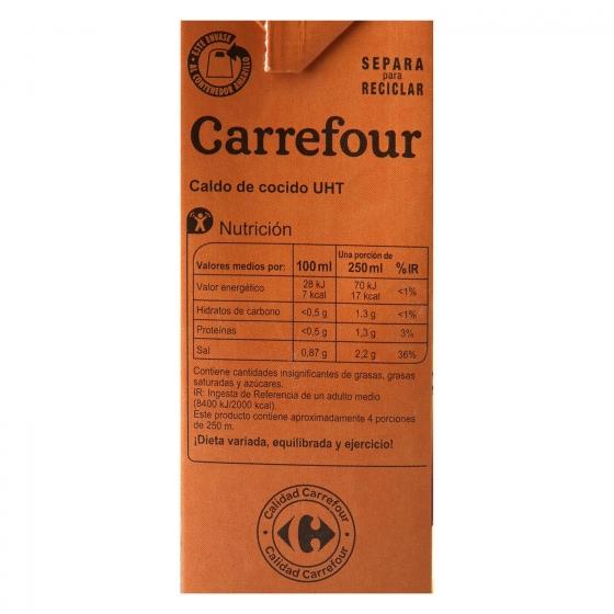 Caldo de cocido Carrefour sin gluten 1 l. - 4