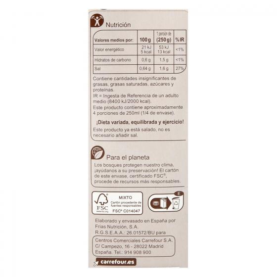 Caldo de pescado Carrefour sin gluten 1 l. - 3