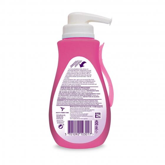 Depilatorio Crema con dosificador piel sensible Veet 400 ml. - 1