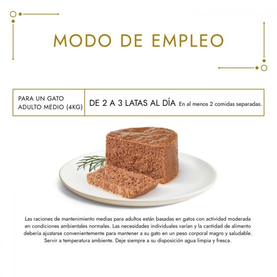 Purina Gourmet Gold Comida Húmeda para Gato Mousse Surtido 8x85g - 1