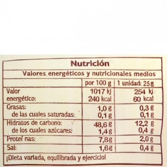 Pan de molletes mini El Antequerano envase 10 ud  - 1