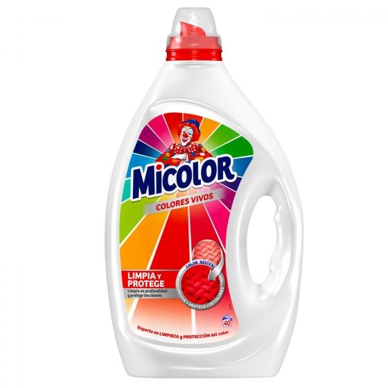 Detergente líquido Micolor 40 lavados.