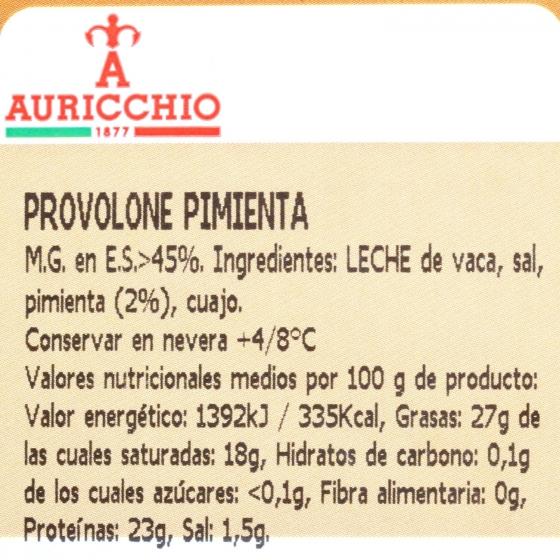 Queso provolone con pimienta Auricchio Hispano Italiana 200 g - 3