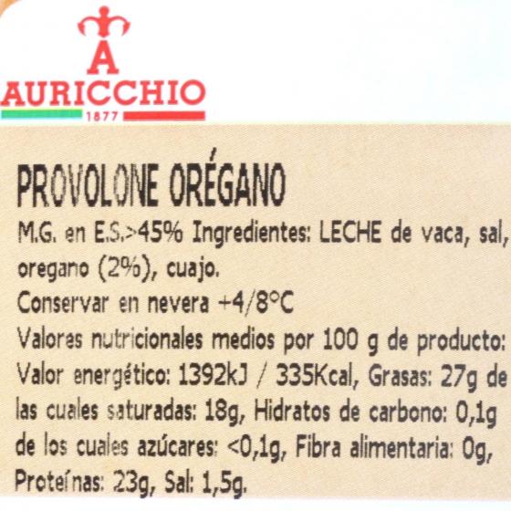 Queso provolone con orégano Auricchio Hispano Italiana 200 g - 3