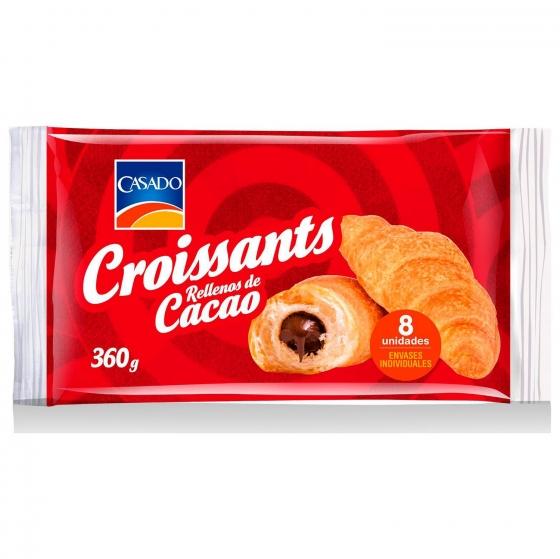 Croissant de cacao Casado 360 g.