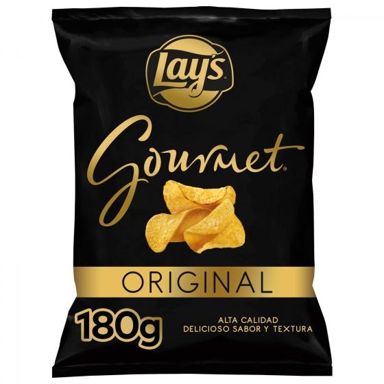 Patatas fritas gourmet Lay's 180 g.