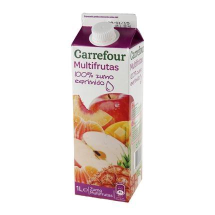 Zumo multivitaminas Carrefour exprimido brik de 1 l.