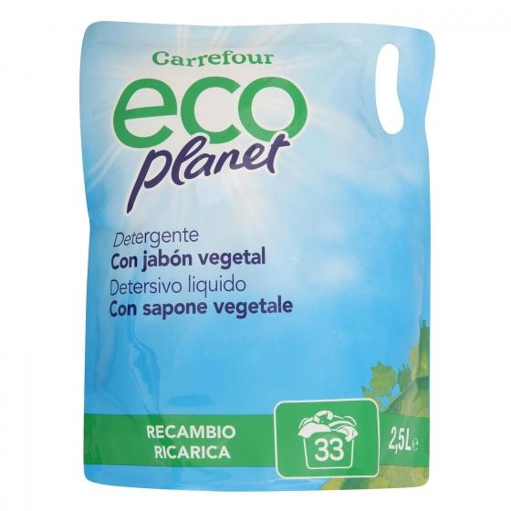 Detergente líquido ecológico Carrefour Eco Planet 33 lavados