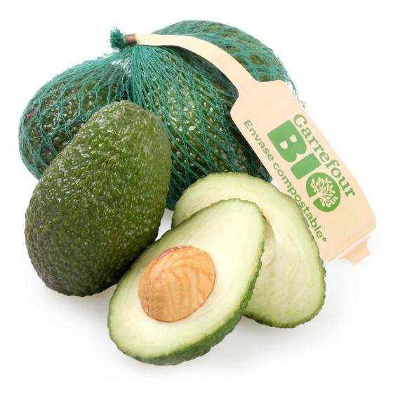 Aguacate ecológico maduro Carrefour Bio 500 g
