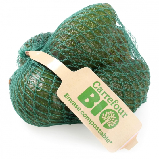 Aguacate ecológico maduro Carrefour Bio 500 g  - 1