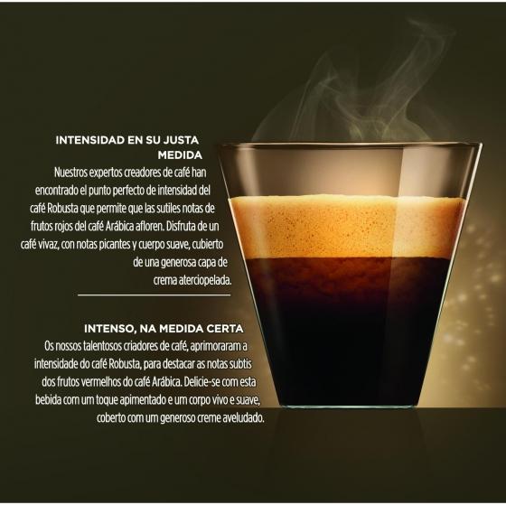 Café Espresso Intenso Nescafe Dolce Gusto 16 Cápsulas - 3