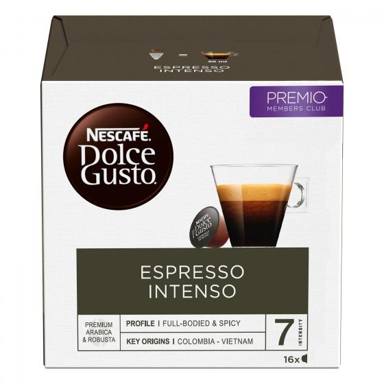 Café Espresso Intenso Nescafe Dolce Gusto 16 Cápsulas - 4