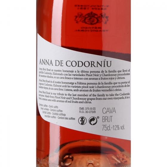 Cava Codorníu-Anna brut rosé 75 cl. - 3