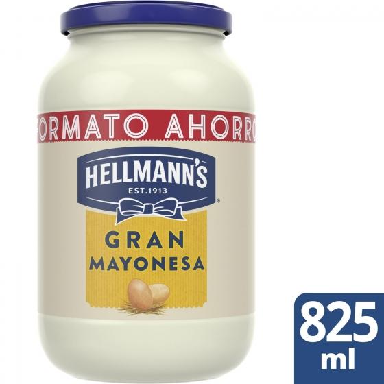 Mayonesa Hellmann's tarro 825 ml. - 1