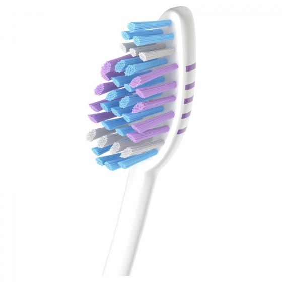 Cepillo dental zigzag medio Colgate 3 ud - 1