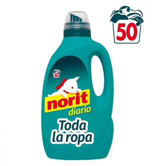 Detergente líquido Diario Norit 50 lavados.