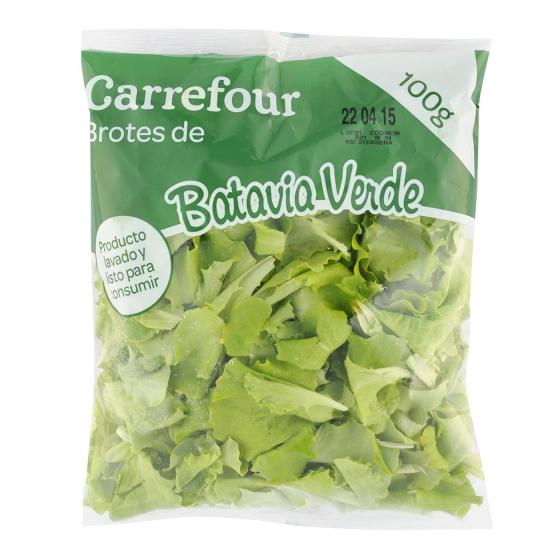 Brote batavia verde Carrefour bolsa 100 g - 1