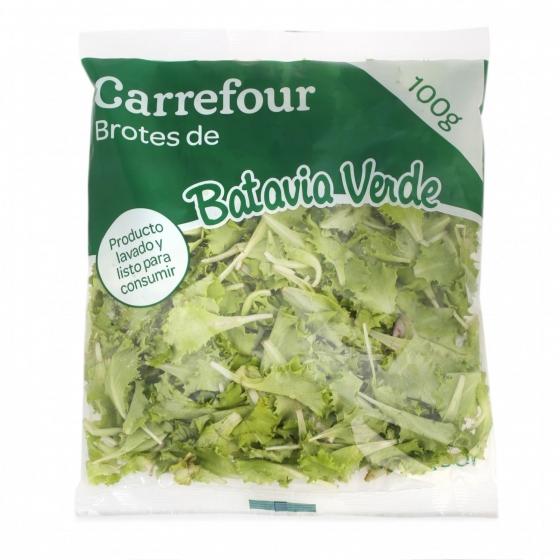 Brote batavia verde Carrefour bolsa 100 g - 3