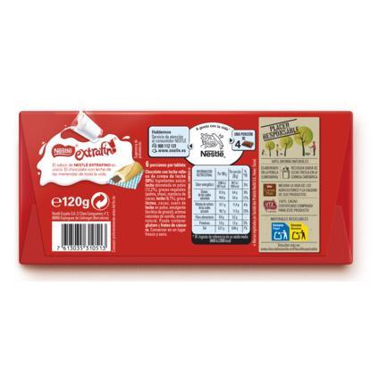 Chocolate con leche extrafino relleno de leche condensada Nestlé 100 g. - 1