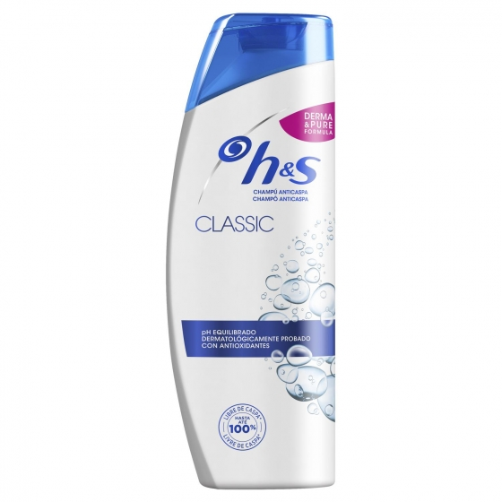 Champú anticaspa classic para cabello normal H&S 700 ml.