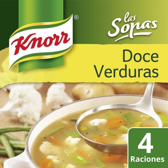 Sopa de doce verduras Knorr 41 g. - 1