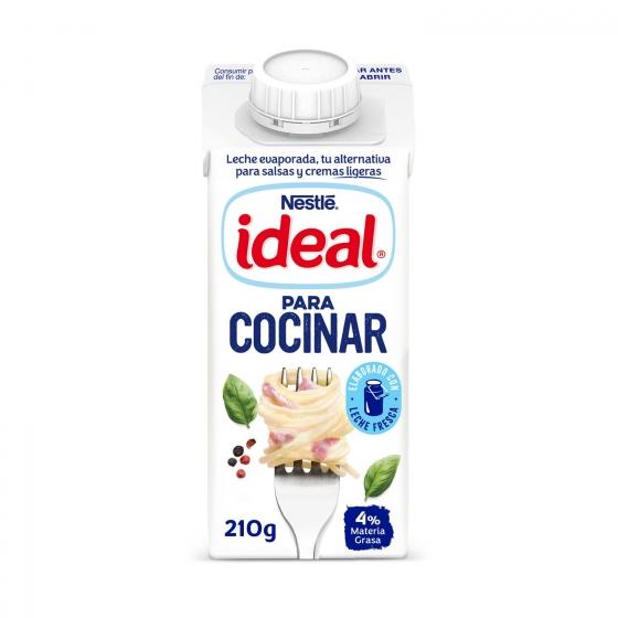 Leche evaporada desnatada Nestlé - Ideal 210 g.