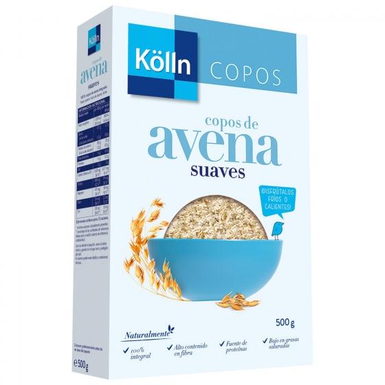 Copos de avena integral suaves Kölln 500 g.