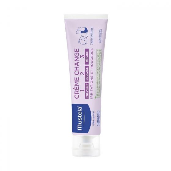Crema bálsamo 1 2 3 para irritaciones y rojeces Mustela 150 ml.