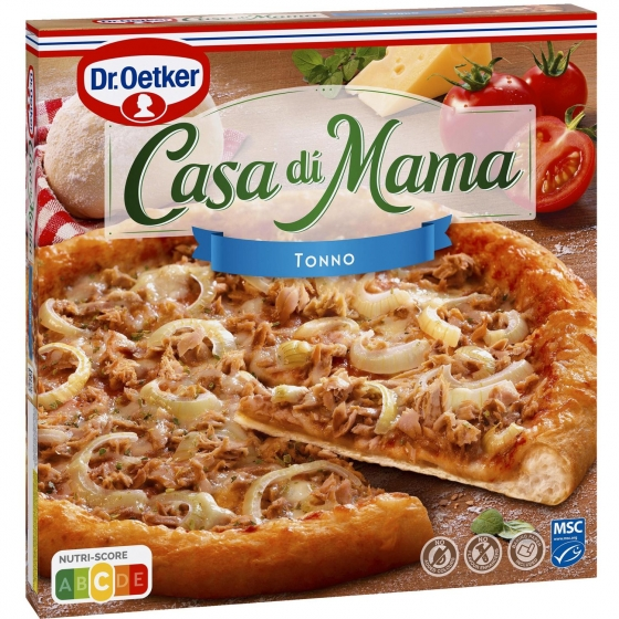 Pizza de atún Casa di Mama Dr. Oetker 420 g.