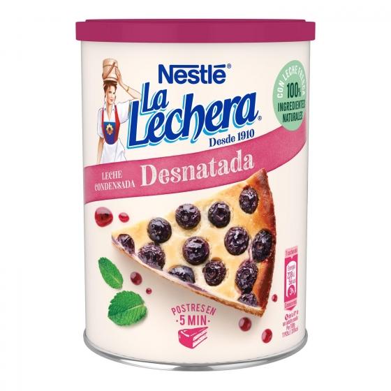 Leche condensada desnatada Nestlé - La Lechera 740 g. - 1