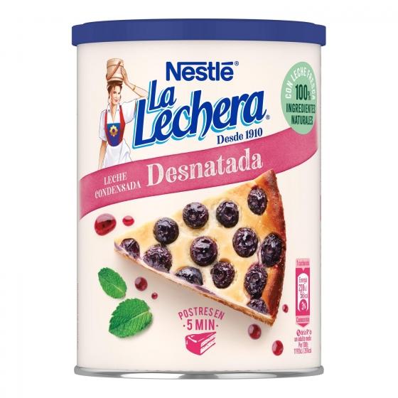 Leche condensada desnatada Nestlé - La Lechera 740 g. - 3
