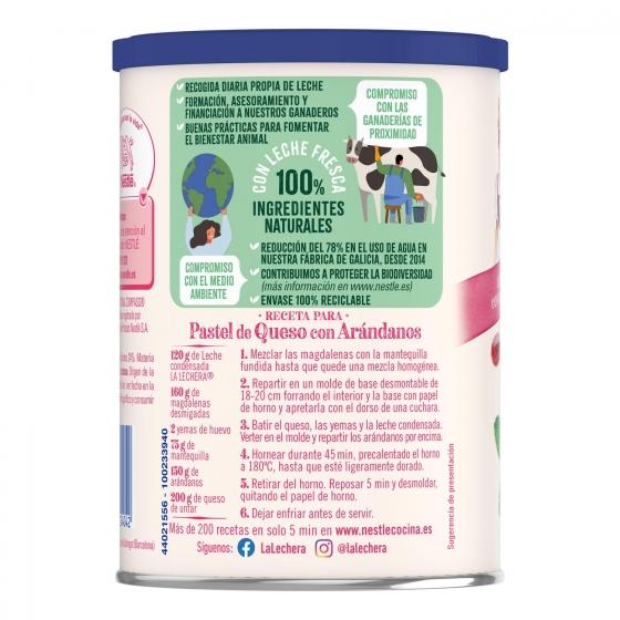 Leche condensada desnatada Nestlé - La Lechera 740 g. - 4