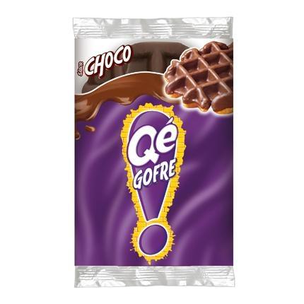 Gofre con chocolate Qé! 1 ud.