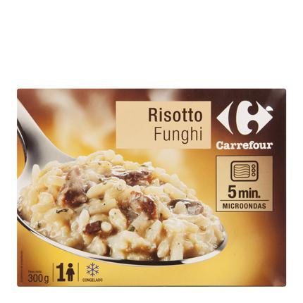 Risotto al Funghi Carrefour 300 g.