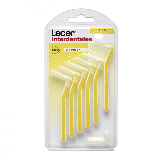 Cepillo dental interdentales fino Lacer 6 ud.