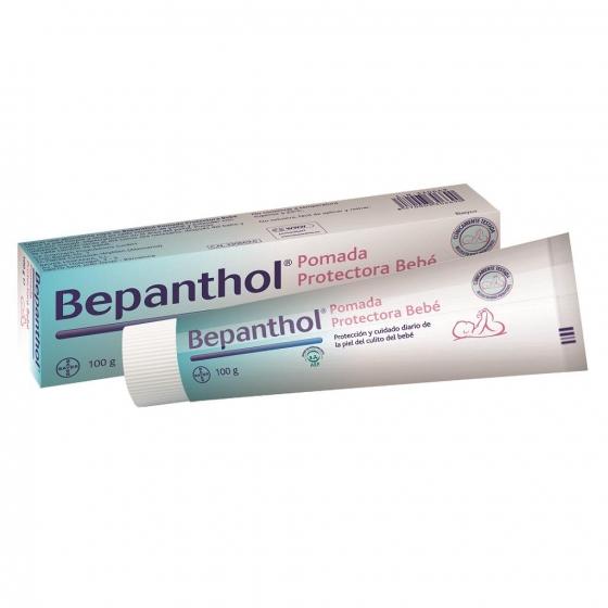 Pomada hipoalergénica para proteger la zona del pañal Bephantol 100 g.