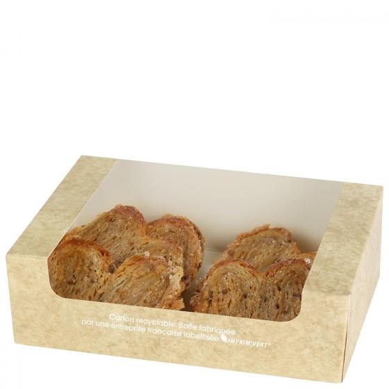 Palmeritas de hojaldre con cereales Carrefour 8 ud - 1