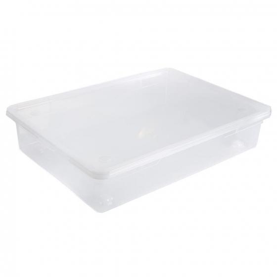 Caja  CARREFOUR HOME 78X56.4X18 - Transparente