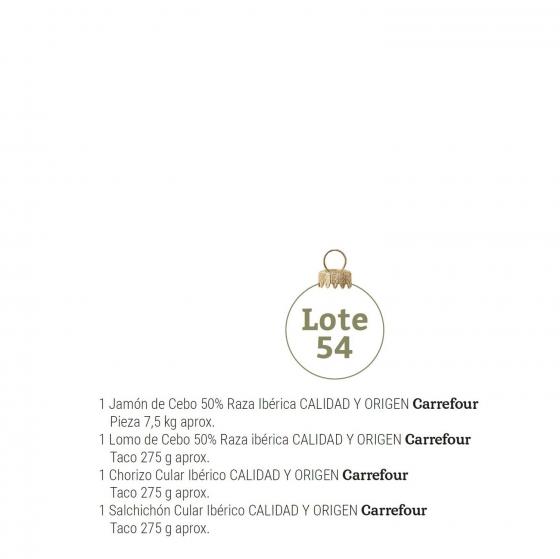 Lote de Navidad nº 54 - 1