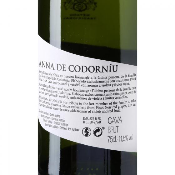 Cava Codorníu-Anna blanco Noirs 75 cl. - 3