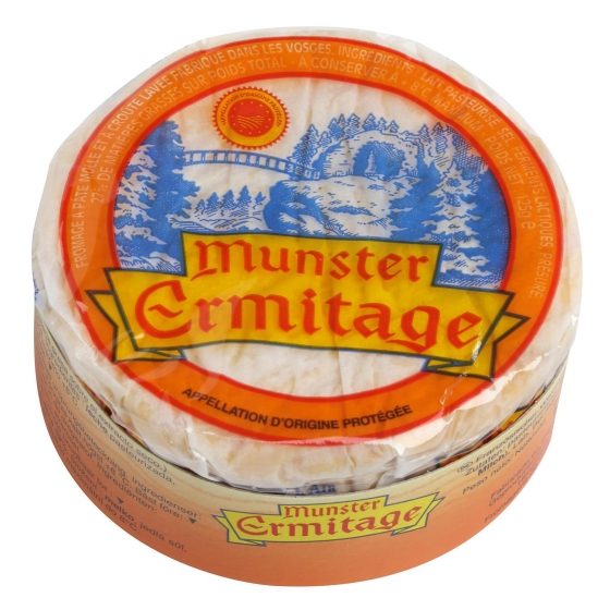 Queso munster ermitage Val de Weiss pieza 125 g