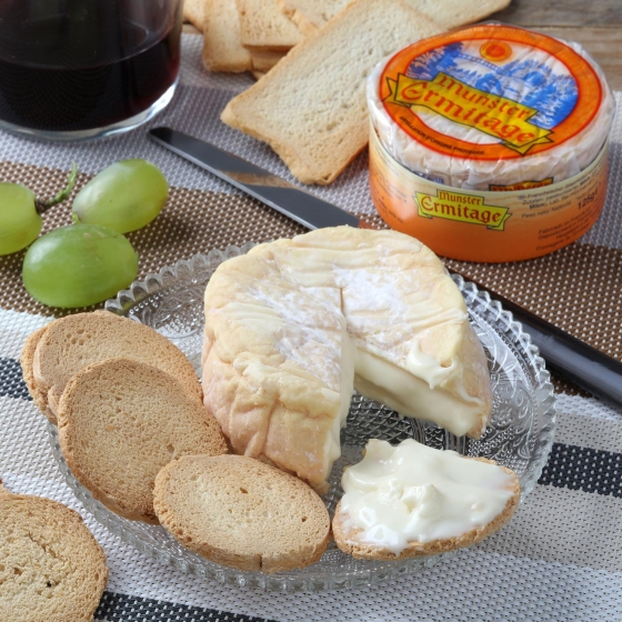 Queso munster ermitage Val de Weiss pieza 125 g  - 4
