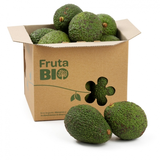 Aguacate ecológico Carrefour granel 700 g aprox