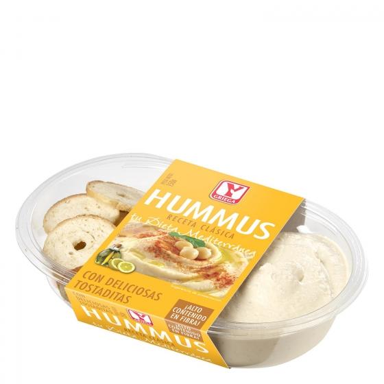 Hummus clásico Ygriega 150 g.