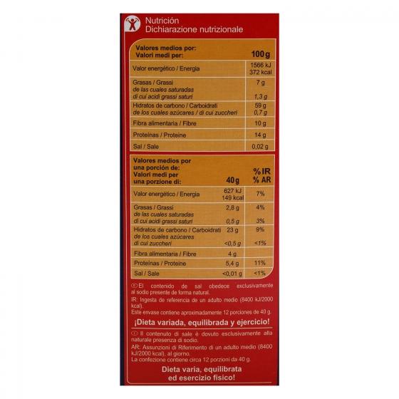 Copos de avena Carrefour 500 g. - 4