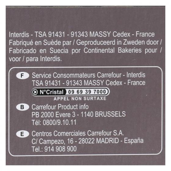 Galletas con avena y chocolate negro Carrefour 150 g. - 3