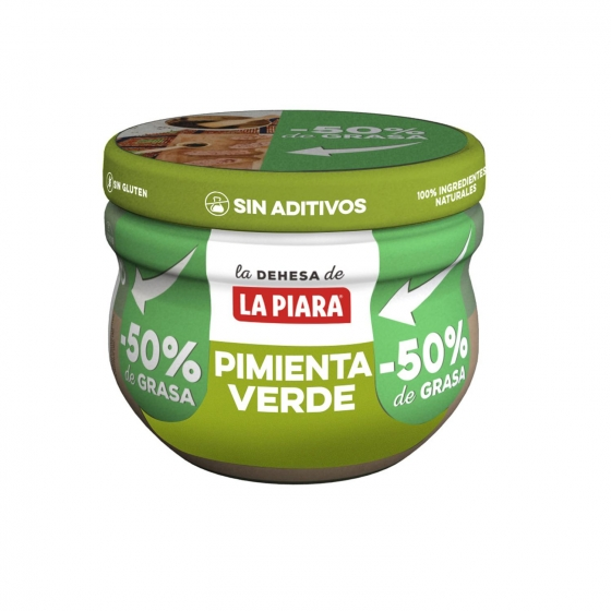 Paté a la pimienta verde La Piara 100 g.
