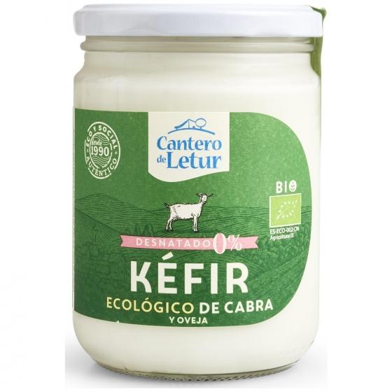 Kéfir de cabra desnatado ecológico Cantero de Letur 420 g.